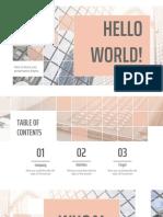 Finances Theme Grid by SlidesGo