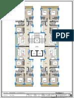 3bhk Unit Plan
