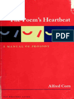 Corn, Alfred - The Poem's Heartbeat _ a Manual of Prosody-Story Line Press (2003)