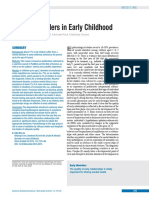 Mental Disorders in Early Childhood
