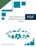 Temario_M4T2_Cálculo de Estructuras Con SAP2000_Condiciones