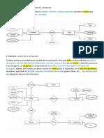 Ejercicios Base de Datos Diagrama Chen