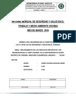 Informe de Seguridad MARZO 2019
