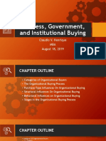 4th Chapter Business Government and Institutional Buying