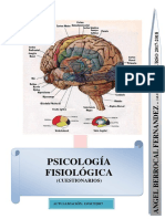 PSICOLOGÍA FISIOLÓGICA - CUESTIONARIOS POR TEMAS