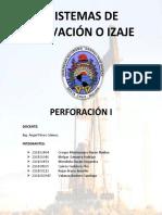 Sistema de Elevacion o Izaje Perforacion I CASI TERMINADO...