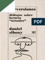 Perversiones. Diálogos sobre locuras actuales [Daniel Sibony].pdf