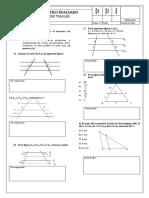 Practico Evaluado Primero Medio Teorema Thales