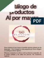 Catálogo de productos al Mayor Blossom Septiembre V1_