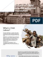 Background on Child Workers in the Industrial Revolution