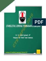 COVER-2Presentation Stabilitas Lereng