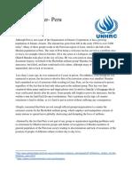 Position paper UNHRC Peru