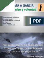 PPT La Carta a Garcia (Compromiso y Voluntad)