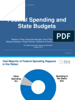State and Federal Spending