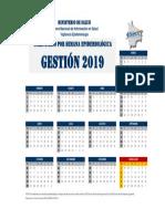 Calendario Epidemiologico 2019