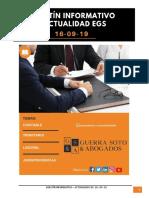 Boletin 16 de Setiembre 2019 EGS