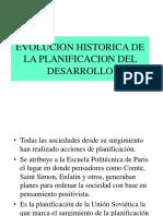 PLANIFICACION DE DESARROLLO