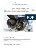 What Are Turbines _ Types of Turbines & Their Applications – MechStuff