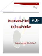 Tratamiento Del Dolor en Cuidados Paliativos 2009