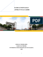 Format Tugas Akhir T.sipil UMY 2018
