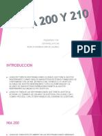 Nia 200 y 210