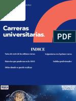 Carreras Universitarias.