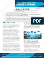 The Ocean and Climate Change Issues Brief