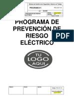 PRG-SST-016 Programa de Prevención de Riesgo Eléctrico