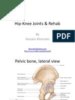 Pelvic, Hip-Knee Joints & Rehab