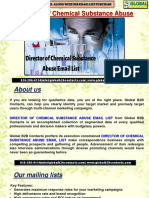 Director of Chemical Substance Abuse EmailList