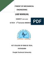 Basic electronics lab manuals