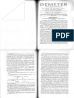 Demeter Monatszeitschrift für biologisch-dynamische Wirtschaftsweise Jahrgang 1933
