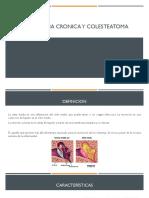 Otitis Media Cronica y Colesteatoma