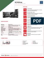 Msi b360m Mortar Datasheet