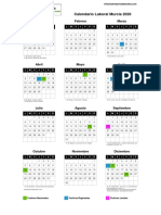 Calendario Laboral Murcia 2020