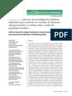 Conflitos de interesses nas estratégias da indústria alimentícia para aumento do consumo de alimentos ultraprocessados e os efeitos sobre a saúde da população brasileira