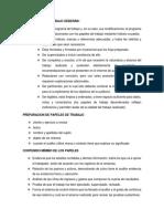 Criterios a Considerar en La Preparacion de Papeles de Trabajo