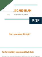 Music and Islam - Presentation