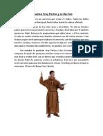Resumen Fray Perico y Su Borrico