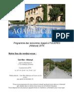 Rencontre à Figueres -Can Mas(Albanyà) Espagne (Novembre et Décembre 2019)