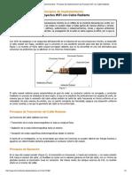 Principios de Proyectos WiFi Con Cable Radiante