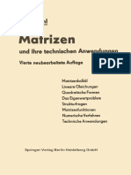 Dr.-ing. Rudolf Zurmühl (Auth.) - Matrizen Und Ihre Technischen Anwendungen-Springer Berlin Heidelberg (1964)