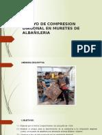 Ensayo de Compresion Diagonal en Muretes de Albañileria (1)