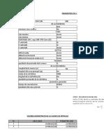 Parametros Morfometricos de La Cuenca de Pativilca