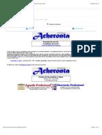 "Acheronta 30 (Julio 2018) - Presentación sección ""Enseñanza de Lacan"""