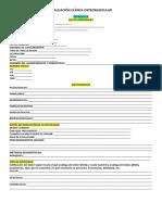 Evaluación Clínica Osteomuscular
