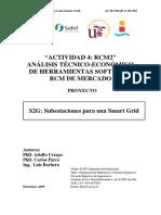 Comparación Softwares RCM 2009