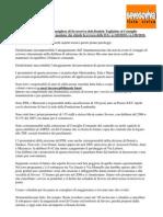 Mozione revoca D.G. n.120 e 128/2010 (parcheggi a pagamento)