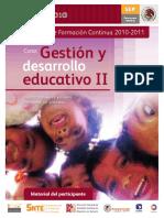GESTIÓN EDUCATIVA II