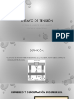 ENSAYO DE TENSION